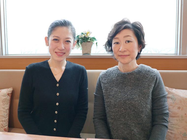 Lisa's Cake Market代表の栗山莉沙と株式会社ペディキュール代表西谷裕子