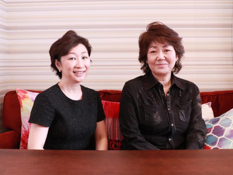 ビューティーナビゲーター大橋千鶴子とペディキュール代表西谷裕子